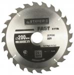 Диски пильные по дереву, серия «FAST Line» Stayer 3680-200-32-24