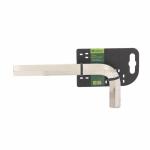Купить Ключ имбусовый HEX, 18 мм., 45x, закаленный, никель Сибртех 12349, СИБРТЕХ