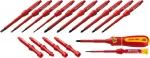 Купить Набор отверток высоковольтных со сменными стержнями KRAFTOOL PRO 220092-H18