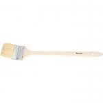 Купить Кисть радиаторная 2, 5 , натуральная щетина, деревянная ручка MATRIX 83849
