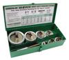 29528 (7307) Набор перфоформ Slug-Splitter 1/2 до 2 дюйм Greenlee