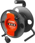 Купить Удлинитель электрический силовой на катушке 1 розетка 20м ЗУБР МАСТЕР 55075-20