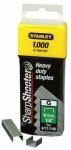 "1-TRA704T STANLEY Скоба для степлера 6 мм тип ""G"" (4/11/140) 1000шт"