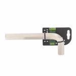 Купить Ключ имбусовый HEX, 22 мм., 45x, закаленный, никель Сибртех 12352, СИБРТЕХ