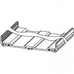 Купить Штампованный профиль Weidmuller PF RS 122 OR 2000MM 1155940000, Weidmueller
