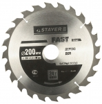 Диски пильные по дереву, серия «FAST Line» Stayer 3680-200-30-24