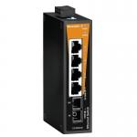 Сетевой выключатель Weidmuller IE-SW-BL05-4TX-1SC 1240890000