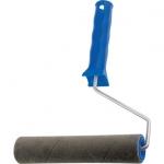 Купить Валик ВЕЛЮР с ручкой, 100 мм, ворс 2 мм, D - 36 мм СИБРТЕХ 80132