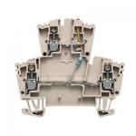 Проходная клемма Weidmuller WDK 2.5 LD RT 24VDC -+ 8023630000