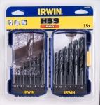 Купить 10503989 IRWIN Сверла HSS PRO DIN-338 Набор 15 шт.