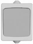 Одноклавишный проходной выключатель СВЕТОЗАР АВРОРА SV-54340-W