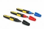 Купить 0-47-315 STANLEY Набор маркеров FatMax (3 шт. цвет: черный, красный, синий)