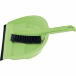 Купить Набор совок с кромкой 313*221 мм и щетка-сметка 305 мм, зеленый ТМ Elfe 93312