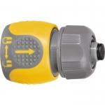 Купить Соединитель для шланга 1/2 , аквастоп, двухкомпонентный PALISAD LUXE 66244