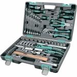 Купить Набор инструментов 76 предметов, 12 гранные головки STELS 14116