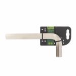 Купить Ключ имбусовый HEX, 19 мм., 45x, закаленный, никель Сибртех 12350, СИБРТЕХ
