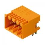 1728040000 WEIDMULLER Вилка S2L 3.50/16/90G 3.5SN BK BX для монтажа на печатную плату.