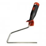 Купить Ручка для валиков 250 мм, D 8 мм, никелированная двухкомпонентная MATRIX 81222