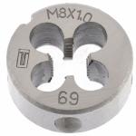 Купить Плашка М8 х 1, 0 мм СИБРТЕХ 77019