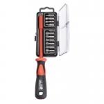 Купить Диэлектрическая отвертка с набором бит НИО-5510 КВТ 69305
