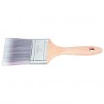 Купить Кисть плоская Platinum 2.5 , искусственная щетина, деревянная ручка MATRIX 83330