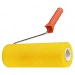 Купить Валик СТРУКТУРНЫЙ поролоновый с ручкой, гладкий , 230 мм, D - 80 мм MATRIX 80220