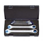 Купить Набор ключей гаечных рожковых с трещоткой 8-19 мм 5шт GEDORE 7 R-005 2297434