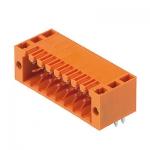1728520000 WEIDMULLER Вилка S2L 3.50/16/90F 3.5SN OR BX для монтажа на печатную плату.