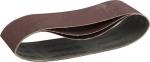Купить Лента шлифовальная универсальная бесконечная на тканевой основе для ЛШМ P180 75х457мм ЗУБР МАСТЕР 35541-180