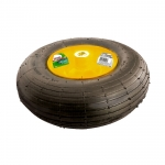 Купить Колесо пневматическое, 4.00-6, D325 мм, подш. внут. диам. 16мм, длина оси 100мм PALISAD 68938