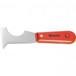 Купить Шпатель-скребок стальной, пластмассовая ручка MATRIX 85299