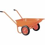 Тачка садово-строительная ТСО-2-02, двухколесная, пневмоколесо, грузоподъемность 120 кг, объем 90л СТРОЙМАШ фото