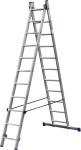 Лестница алюминиевая двухсекционная ЗУБР ЭКСПЕРТ 38821-11  - Купить