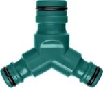 Купить Тройник соединитель-соединитель-соединитель Profi Extra Flow Raco 4252-55165C