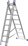 Купить Лестница алюминиевая трехсекционная ЗУБР ЭКСПЕРТ 38831-08