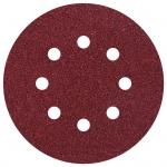 шлифовальных дисков на липучках (5 шт.) wolfcraft 2253000