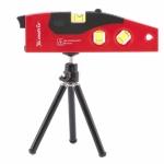 Купить Уровень лазерный, 180 мм, 220 мм штатив, 4 глазка MATRIX 35022