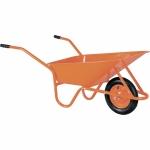 Тачка садово-строительная ТСО-02/01, крашенный кузов, цельнолитое колесо,грузоподъемность 120кг, объем 90л СТРОЙМАШ фото
