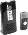 Звонок радиочаст. беспроводной 80м 36 полиф. мелодий. 3 режима: звук+ звук/свет+свет 3хAA CR2032. СВЕТОЗАР 58074  - Купить