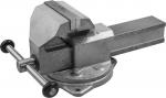 Купить Тиски слесарные с поворотным основанием и наковальней 140 мм ЗУБР ЭКСПЕРТ 32608-140