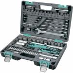 Купить Набор инструментов 82 предмета, 12 гранные головки STELS 14117